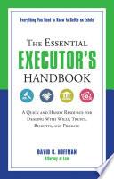 The Essential Executor s Handbook
