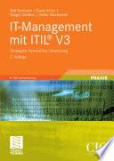 IT Management mit ITIL   V3
