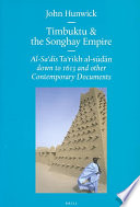 Ebook Timbuktu and the Songhay Empire Epub John O. Hunwick Apps Read Mobile