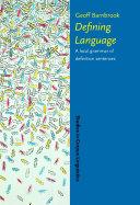 download ebook defining language pdf epub