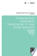 Contemporary Destination Governance  A Case Study Approach