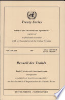 Treaty Series Volume 1968 - 1997 - I. Nos.33640-33645 II. Nos. 1166-1195