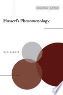 Husserl s Phenomenology