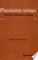 illustration du livre Philosophie Antique n°1 - Figures de Socrate