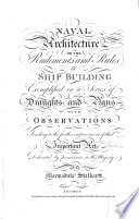 Naval Architecture, Or, The Rudiments and Rules of Ship Building