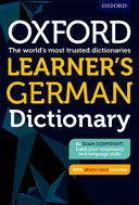 Oxford Learner S German Dictionary
