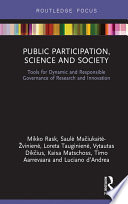 Public Participation  Science and Society