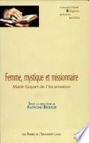 Femme, mystique et missionnaire