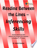 Reading Between the Lines  Inferencing Skills