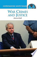 War Crimes And Justice