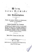 Wien, seine geschicke [1] und seine denkwu̇rdigkeiten