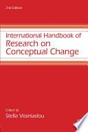 International Handbook Of Research On Conceptual Change