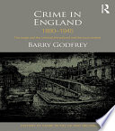Crime in England 1880 1945