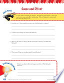 Read & Succeed Comprehension Level 6: Cause and Effect Passages and Questions