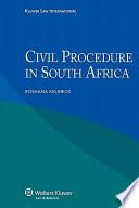 Civil Procedure in South Africa
