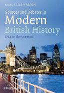 download ebook sources and debates in modern british history pdf epub