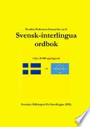 Svensk interlingua ordbok