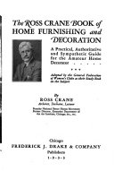 Ross Crane Book of Home Furnishing and Decoration