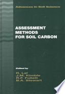 Assessment Methods For Soil Carbon : available to the atmosphere, the...