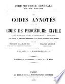 Code De Proc Dure Civile Annot Et Expliqu D Apr S La Jurisprudence Et La Doctrine0