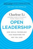 Open Leadership Book