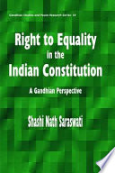 Right to Equality in the Indian Constitution