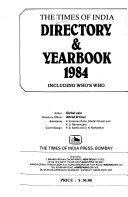 The Times Of India Directory And Year Book Including Who S Who book