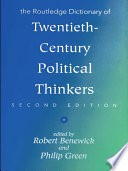 The Routledge Dictionary of Twentieth Century Political Thinkers
