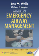 Manual of Emergency Airway Management
