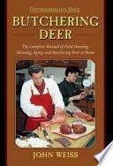 Butchering Deer