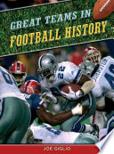 Great Teams in Pro Football History