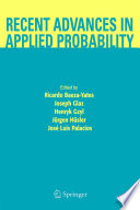 Recent Advances in Applied Probability