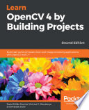 Learn Opencv 4 By Building Projects