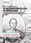 Adelsreformideen in Preußen