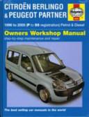 Citroen Berlingo Peugeot Partner Owners Workshop Manual