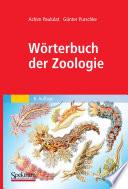 W  rterbuch der Zoologie
