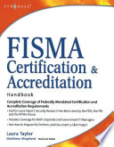 Fisma Certification And Accreditation Handbook