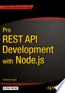 Pro REST API Development with Node js