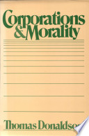Corporations and Morality