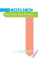 Church  Charism and Power