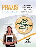 Praxis Special Education 0354 5354  5383  0543 5543 Book and Online