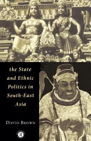 The State and Ethnic Politics in SouthEast Asia
