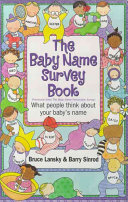 The Baby Name Survey Book