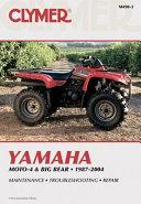 Yamaha Moto 4 Big Bear 1987 2004