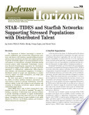 STAR-TIDES and Starfish Networks