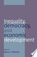 Inequality  Democracy  and Economic Development