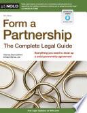 Form a Partnership