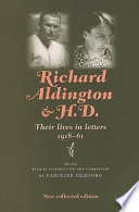 Richard Aldington and H D