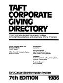 Taft Corporate Giving Directory