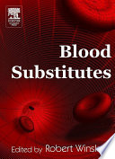 Blood Substitutes book